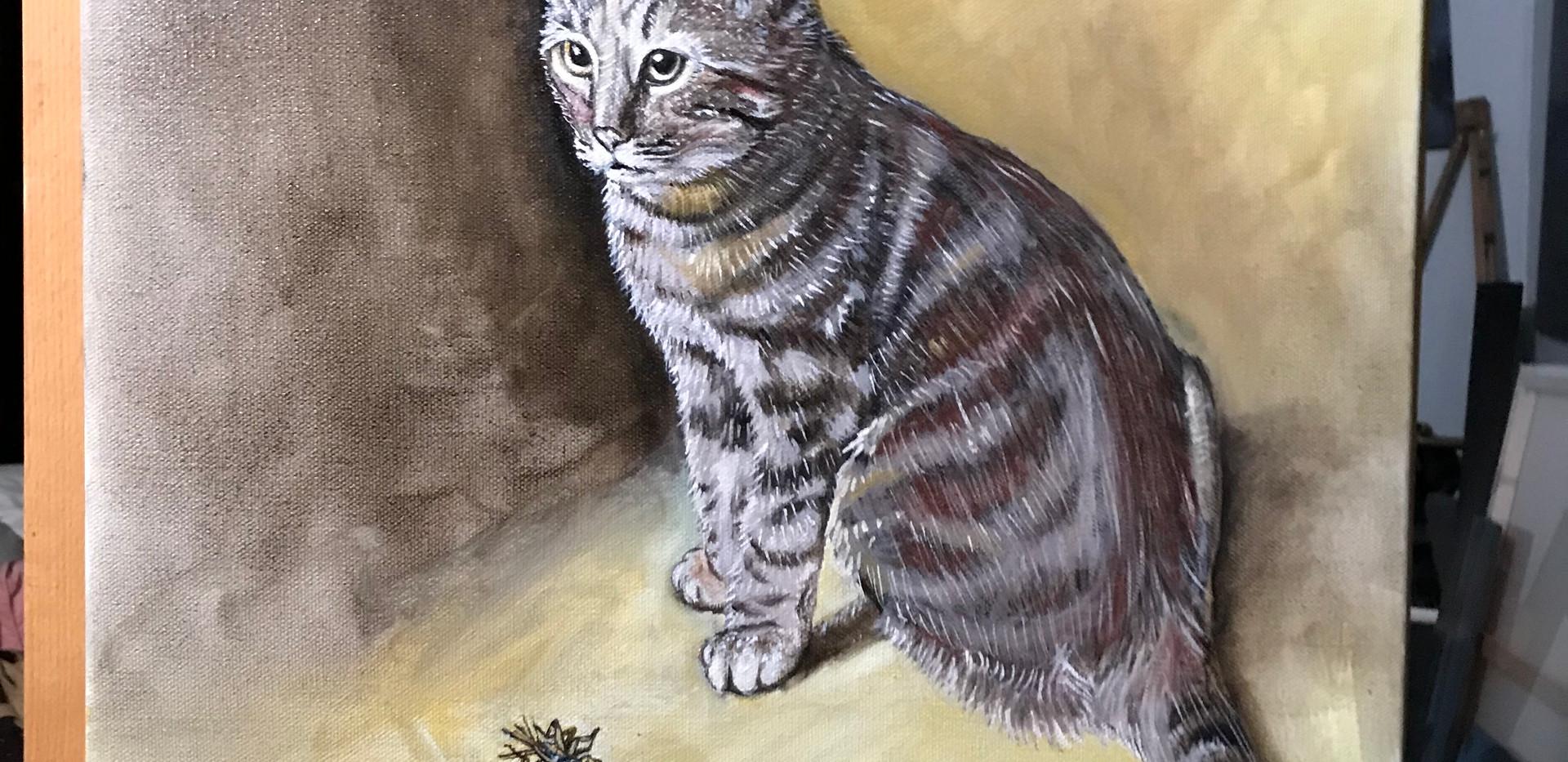 Portrait of Spiglet (2020)