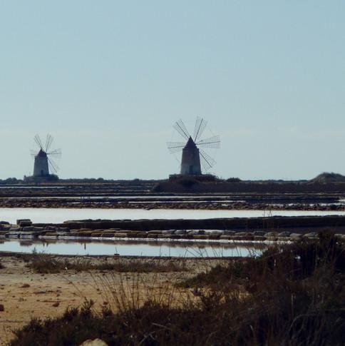Salt Mines in Sicily