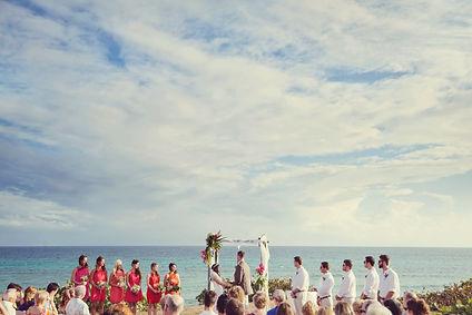 Wedding in Vieques, Puerto Rio