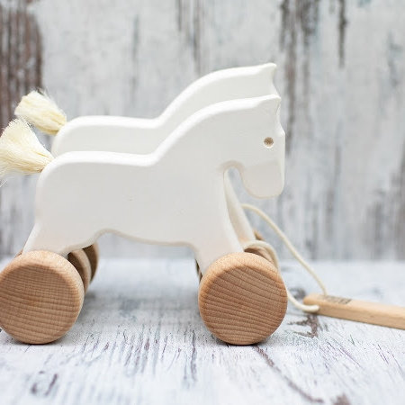 Wooden Galloping Horses