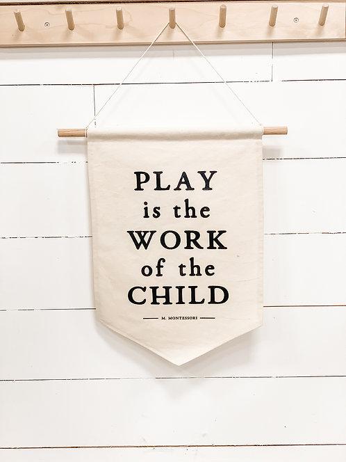 Montessori Canvas Banner