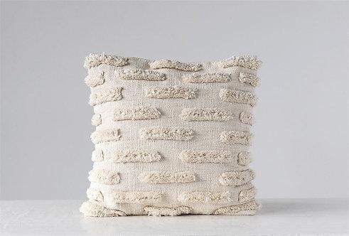 Natural Fringe Pillow