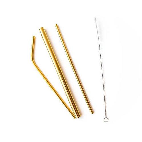 Brass Forever Straws