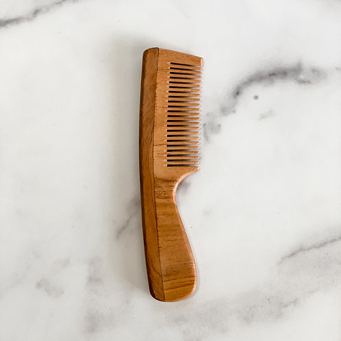 Thin Tooth Neem Comb