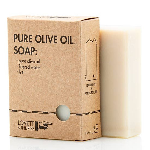 Pure Olive Oil Soap