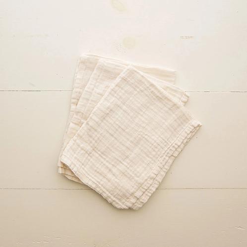 Organic Cotton Burp Cloth Set