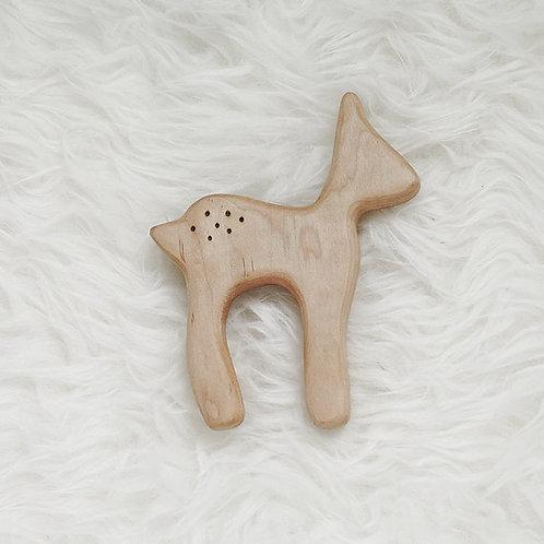 Wooden Deer Teether