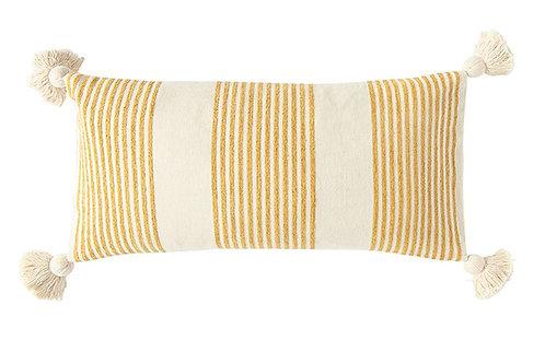 Mustard Chenille Lumbar Pillow