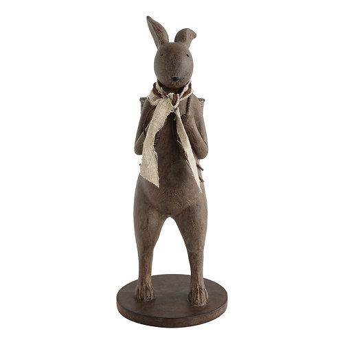 Rabbit with Basket Decoration