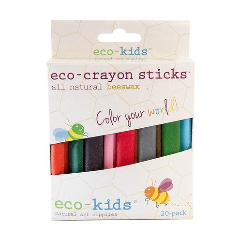 eco-crayon sticks