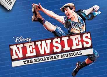 """Steve Gags joins the cast of """"NEWSIES"""" at the La Mirada Theatre, California"""