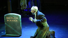 Steve Gagliastro is Scrooge in A CHRISTMAS CAROL REIMAGINED