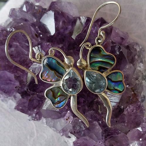 Amethest earrings