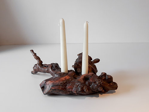 Small Double Candle Holder