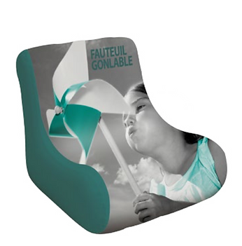 fauteuil gonflable
