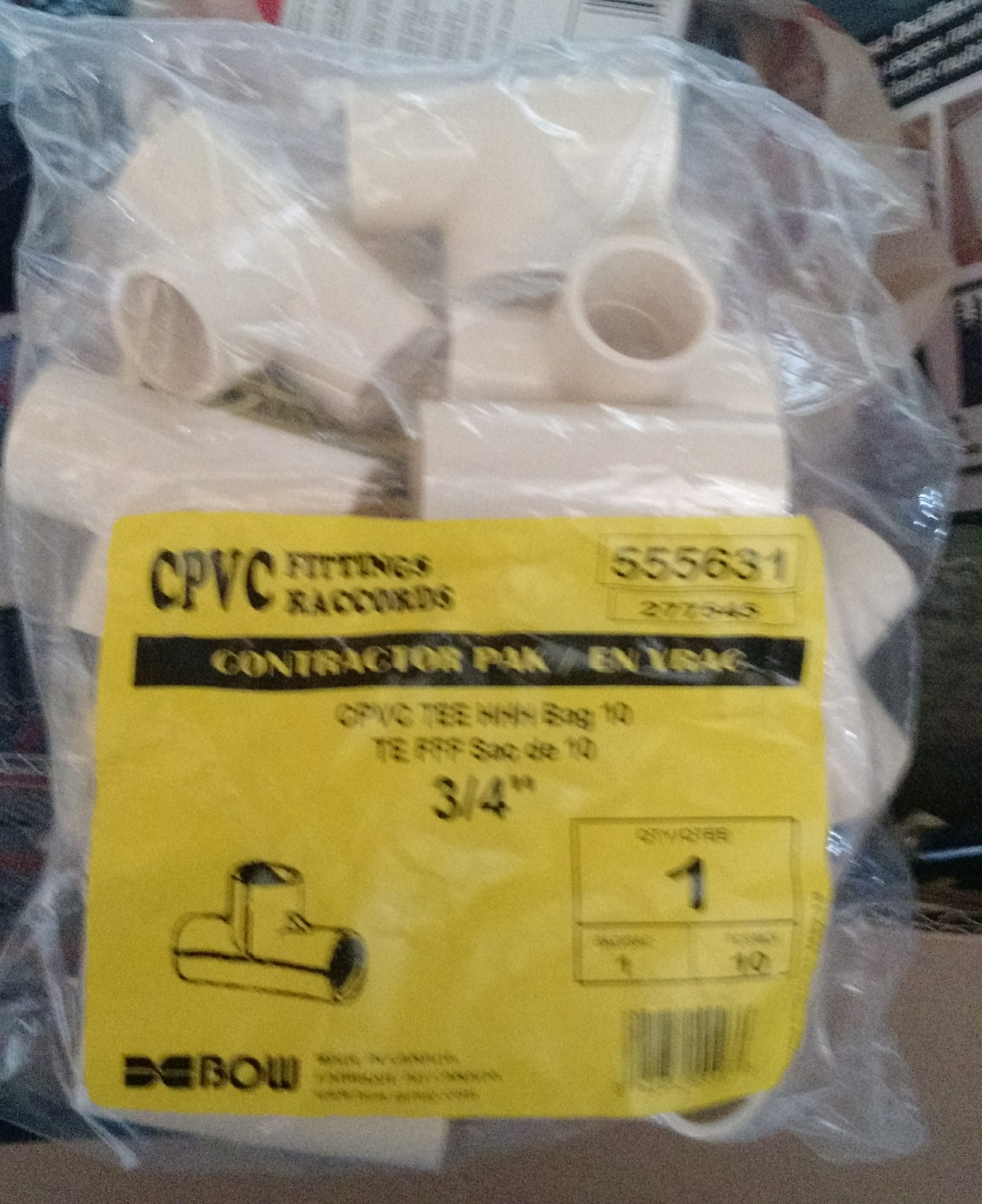 Pipe Fittings - Tee's