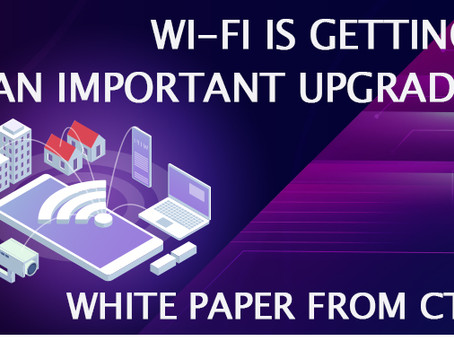 New White Paper On Wi-Fi Getting Its Biggest Upgrade in 20 Years