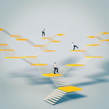 business-people-climb-abstract-stairs-co