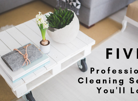 Five Professional Cleaning Secrets You'll Love