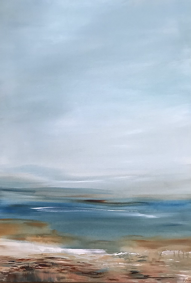 Afternoon Haze down on Calgary Bay - contact the Holroyd Gallery to purchase