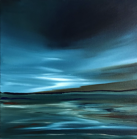 Day's End, Lochside (available to purchase at Galerie Fantoosh, Dingwall)