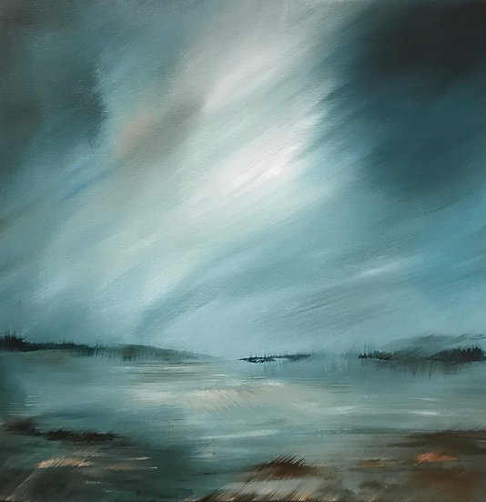 From Cromarty Bridge - please contact the Holroyd Gallery to purchase