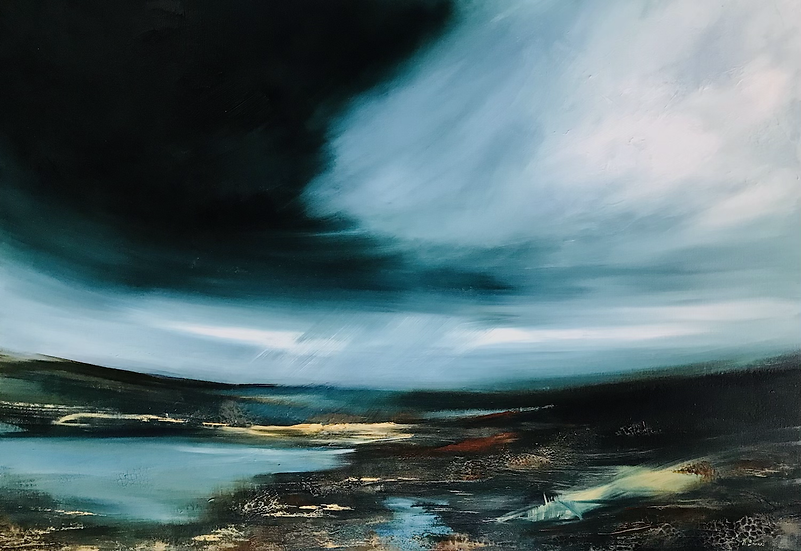 Munroing at Dawn - contact the Holroyd Gallery to purchase