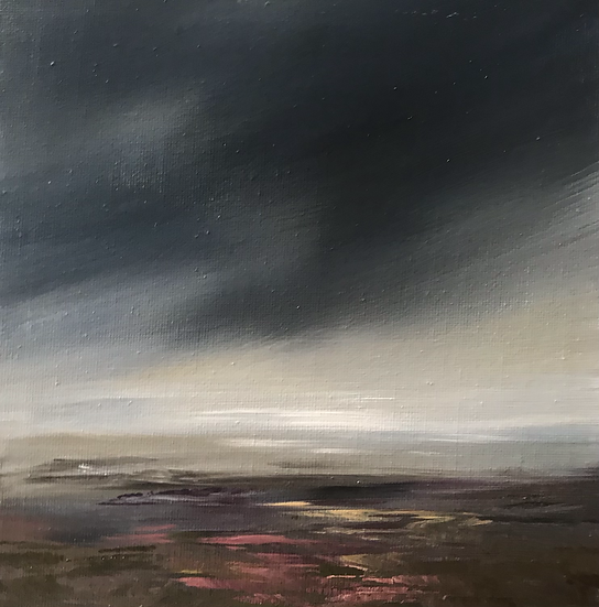 Heavy cloud, Over the Heather