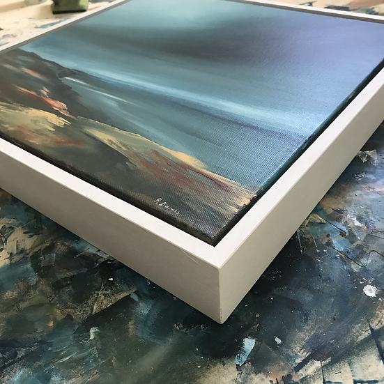 White Tray Frame - for 40 x 40cm deep edge canvases
