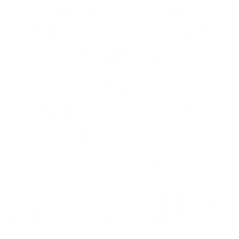 Grump Dog White Logo