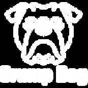 Grump Dog White Logo