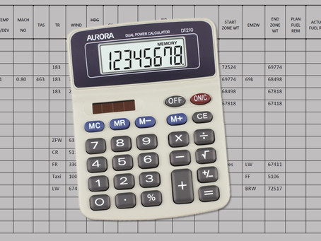 Five tips for using your calculator in ATPL Flight Planning!