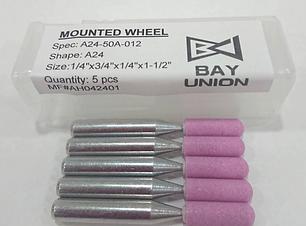 BAY UNION | Made In Taiwan Mounted Wheel Grinding Wheel Bay Union 砂輪 精密砂輪 成行砂輪 平面砂輪 外徑研磨 內圓研磨 MIT