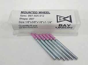 BAY UNION | Made In Taiwan Your Best Grinding Choice! Mounted Wheel