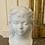 Thumbnail: Buste de jeune fille en biscuit