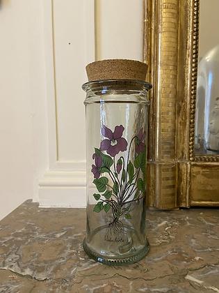 Pot vintage herboristerie #2