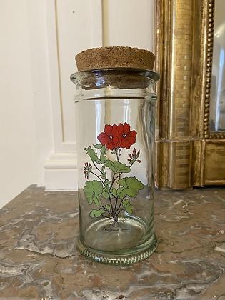 Pot vintage herboristerie #1