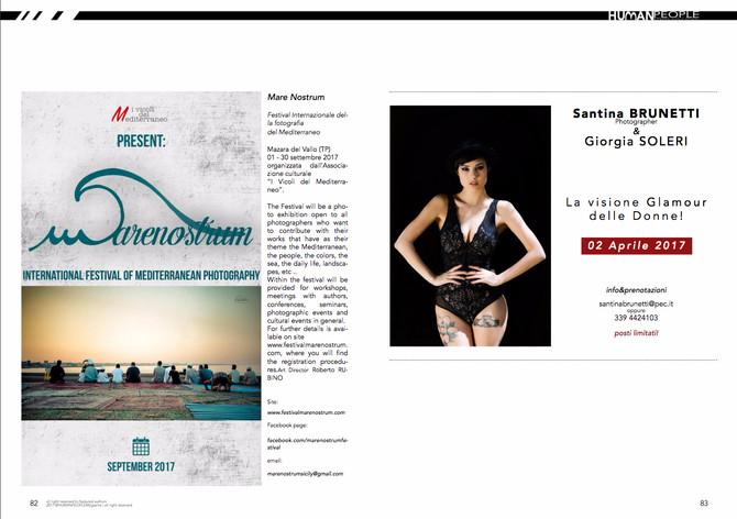 Il Festival Marenostrum sul mensile internazionale Human People Magazine