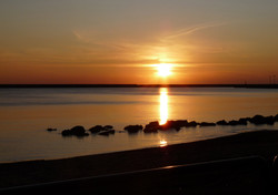 Il tramonto di Mazara del Vallo