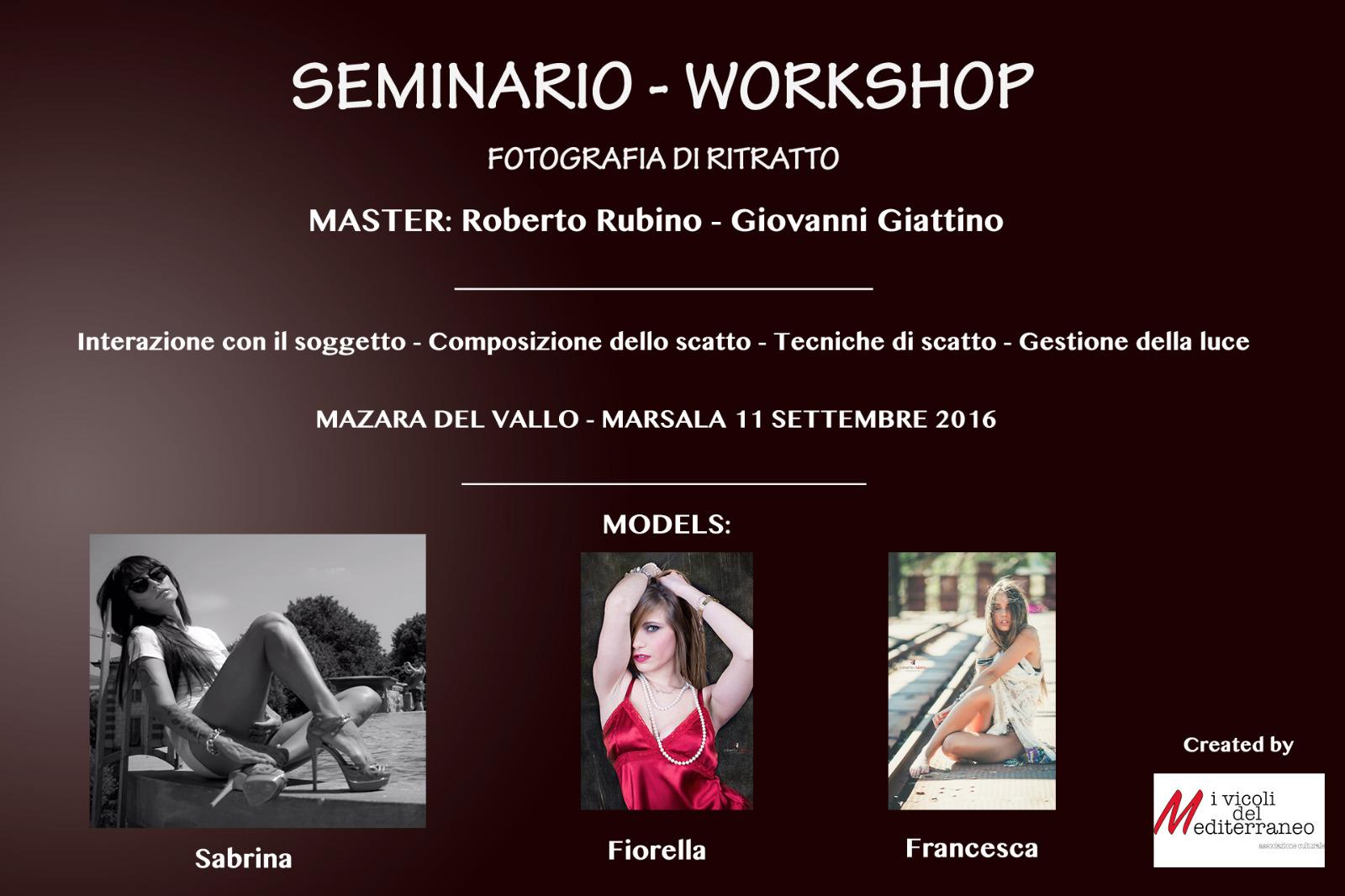 Workshop Fotografia di ritratto