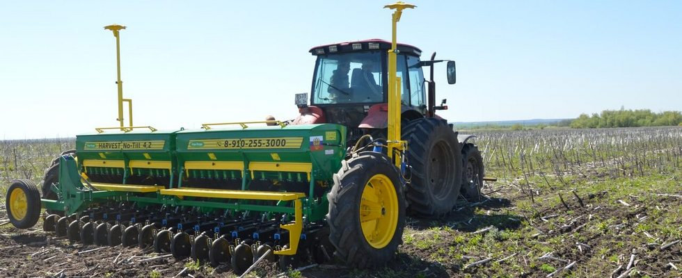 Зерновая сеялка прямого посева