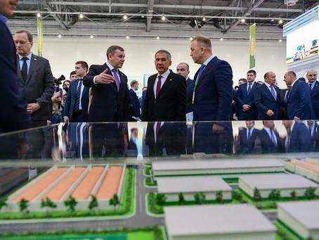 В Татарстане открылась крупнейшая агротехнологическая выставка ТатАгроЭкспо-2021
