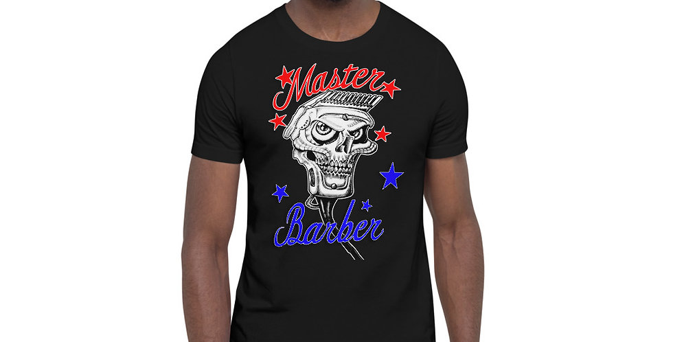 Short-Sleeve Unisex T-Shirt Master Barber
