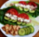 Tuna Salad with Greek Yoghurt in Lettuce Cups Healthy Recipe