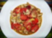 Chicken and Strawberry Pasta in a Creamy Wine Sauce Healthy Recipe
