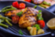 Lemon, Garlic and Rosemary Grilled Chicken Breast Healthy Recipe