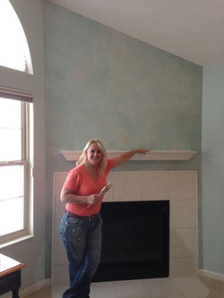 What faux do you like! Tuscany or modern shimmery with diver and light blue metallics!  A Raye of co
