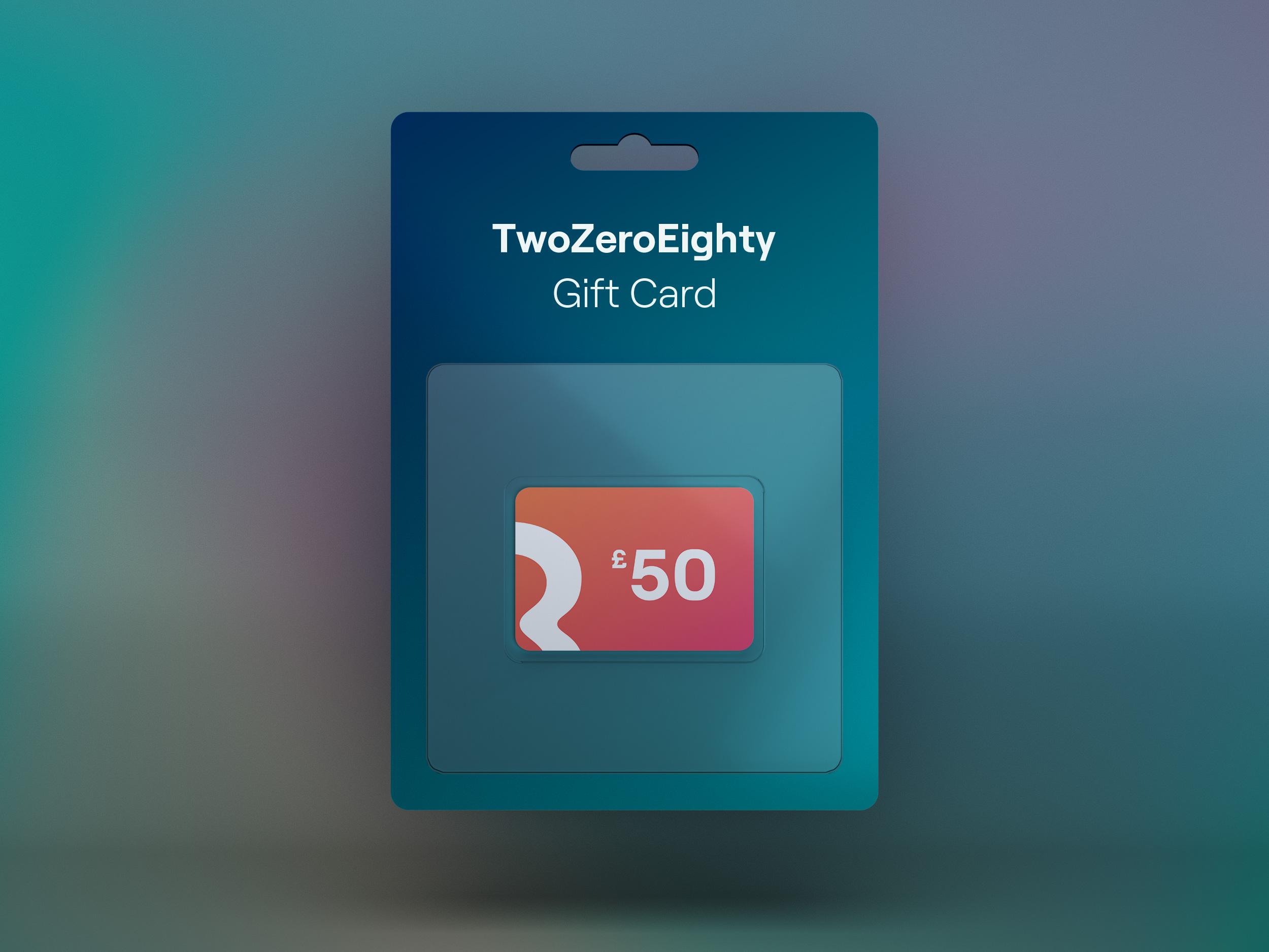 TwoZeroEighty Gift Card