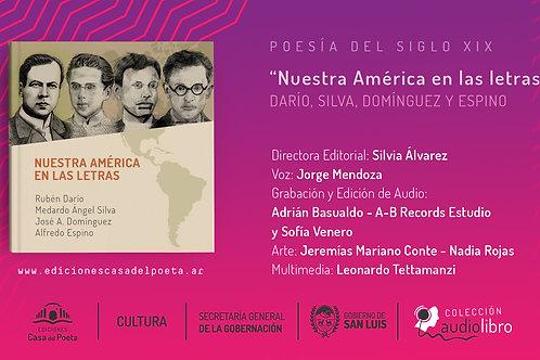 Ediciones Casa del Poeta - Audiolibros - Nuestra América en las letras