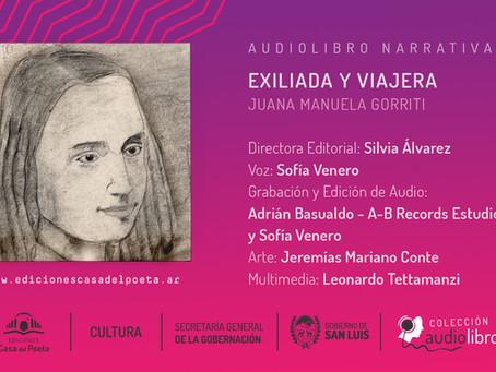 """Ediciones Casa del Poeta anuncia dos nuevos audiolibros: """"Nuestra América en las letras"""" y """"Exiliada"""